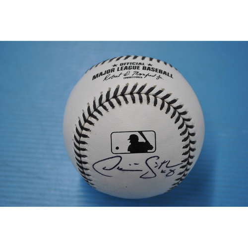 Photo of 2020 MLB Black Lives Matter Commemorative Ball - Autographed by Dom Smith