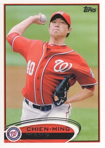 Photo of 2012 Topps #440 Chien-Ming Wang