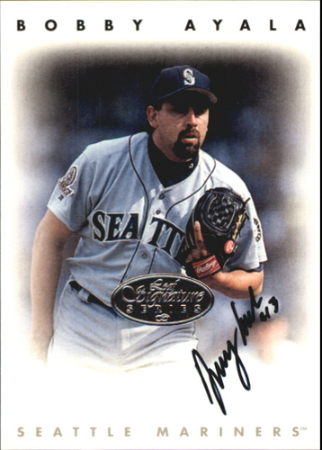 Photo of 1996 Leaf Signature Autographs Silver #13 Bobby Ayala