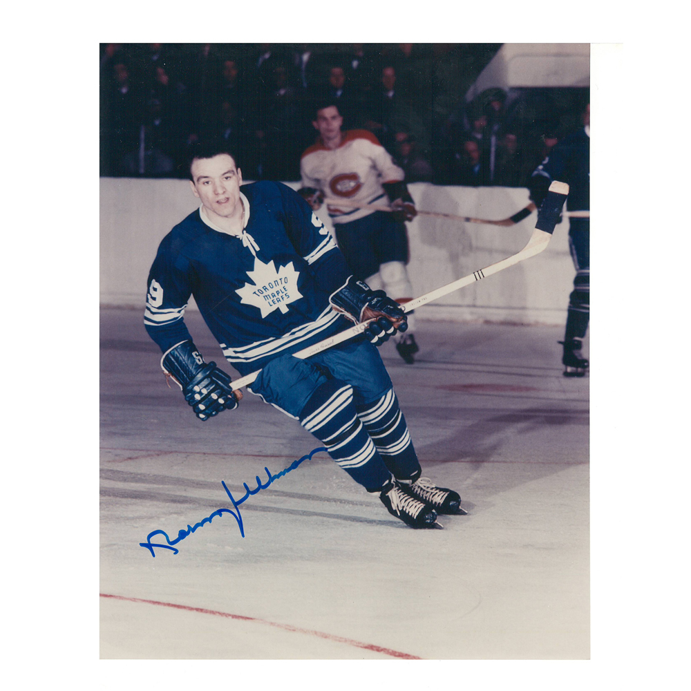 new style 8a291 70a54 NORM ULLMAN Signed Vintage Toronto Maple Leafs 8 X 10 Photo ...