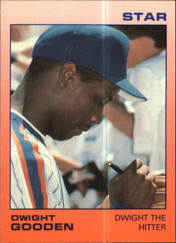 Photo of 1988 Star Gooden Glossy #5 Dwight Gooden/Dwight The Hitter