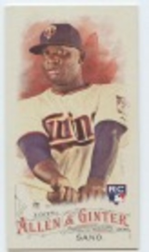 Photo of 2016 Topps Allen and Ginter Mini #66 Miguel Sano