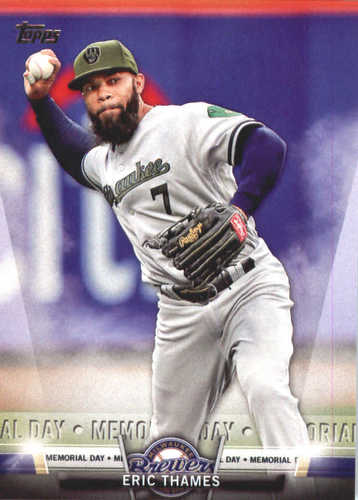 Photo of 2018 Topps Salute #TS49 Eric Thames
