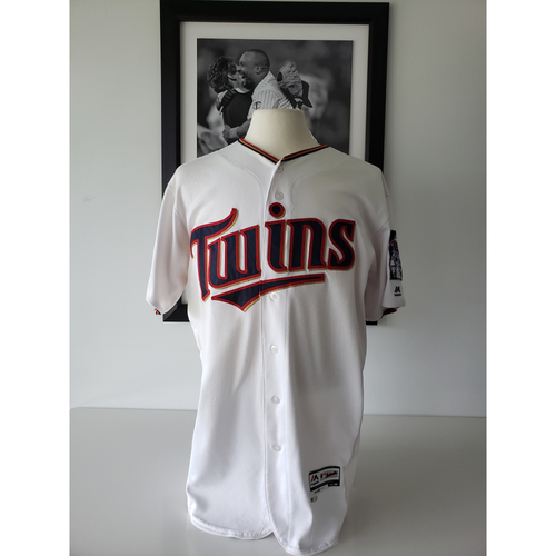 low priced 9b57b 44ae3 MLB Auctions | 2017 Brian Dozier Game-Used Jersey