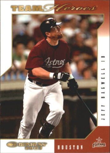 Photo of 2003 Donruss Team Heroes #211 Jeff Bagwell