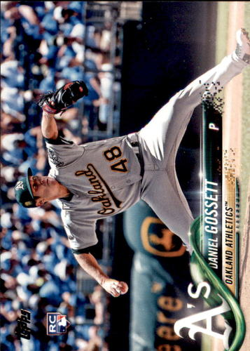 Photo of 2018 Topps Update #US283 Daniel Gossett RC