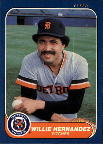 Photo of 1986 Fleer #228 Willie Hernandez