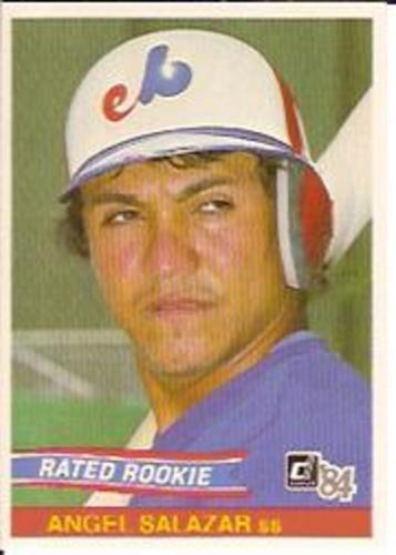 Photo of 1984 Donruss #33 Angel Salazar RC