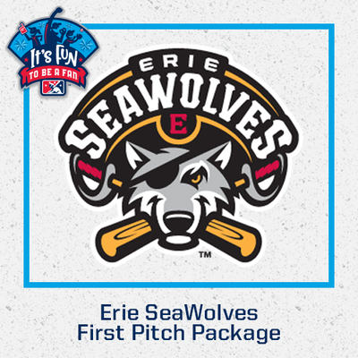 Erie SeaWolves First Pitch Package