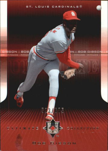 Photo of 2004 Ultimate Collection #4 Bob Gibson