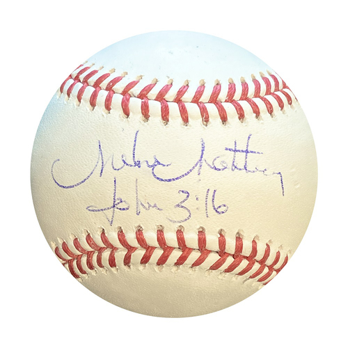 Photo of Autographed Baseball: Mike Matheny
