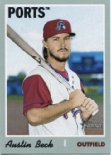 Photo of 2019 Topps Heritage Minors #136 Austin Beck