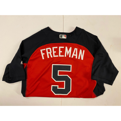 Photo of Freddie Freeman 2018 Team Issued Batting Practice Jersey