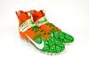 My Cause My Cleats - Bengals Joe Burrow signed custom cleats - Supporting The Joe Burrow Hunger Relief Program