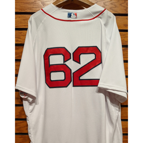 #62 Team Issued Home White Jersey