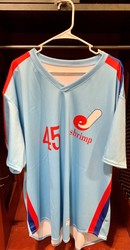 Photo of Jacksonville Expos Fauxback Jersey #45 Size 54