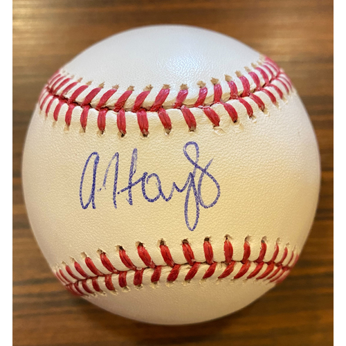 Photo of Austin Hays Autographed Baseball