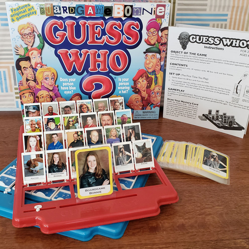 """Photo of UMPS CARE AUCTION: Custom-Made and Personalized """"Guess Who"""" Board Game"""