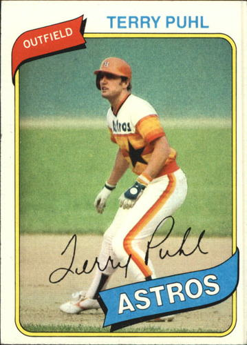 Photo of 1980 Topps #147 Terry Puhl