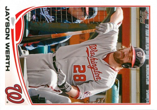 Photo of 2013 Topps #328 Jayson Werth