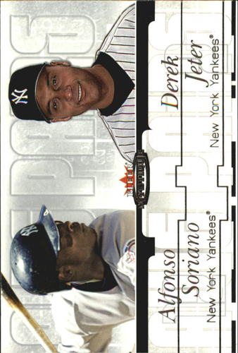 Photo of 2003 Fleer Mystique Awe Pairs #2 D.Jeter/A.Soriano