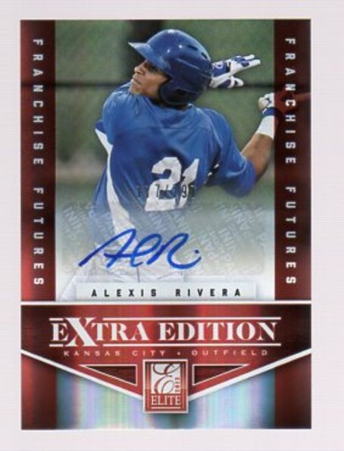 Photo of 2012 Elite Extra Edition Franchise Futures Signatures #82 Alexis Rivera/797