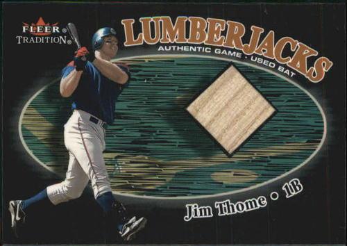 Photo of 2000 Fleer Tradition Glossy Lumberjacks #41 Jim Thome/479