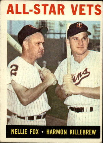Photo of 1964 Topps #81 All-Star Vets/Nellie Fox/Harmon Killebrew