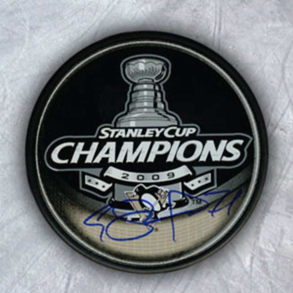 Evgeni Malkin Pittsburgh Penguins Autographed 2009 Stanley Cup Puck