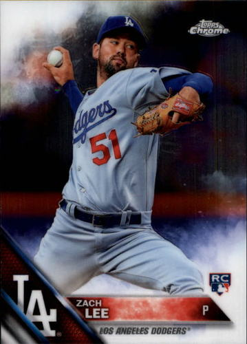 Photo of 2016 Topps Chrome #171 Zach Lee RC