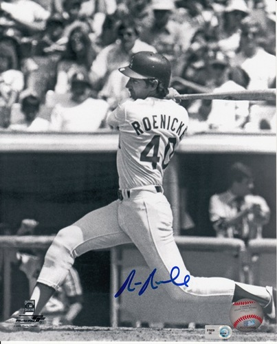 Photo of Ron Roenicke Autographed 8x10