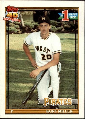 Photo of 1991 Topps #491 Kurt Miller RC