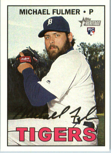 Photo of 2016 Topps Heritage #648A Michael Fulmer  Rookie Card