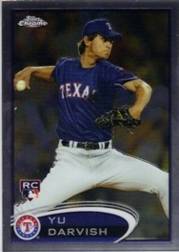 Photo of 2012 Topps Chrome #151A Yu Darvish Arm Back  Rookie Card