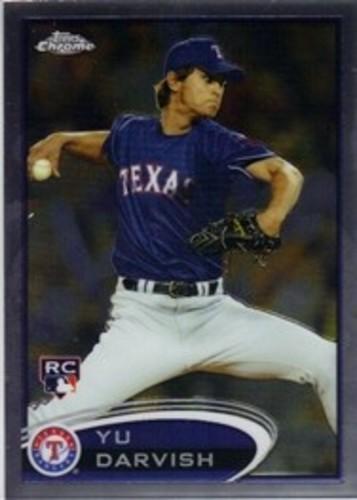 Photo of 2012 Topps Chrome #151A Yu Darvish Arm Back  Rookie Card