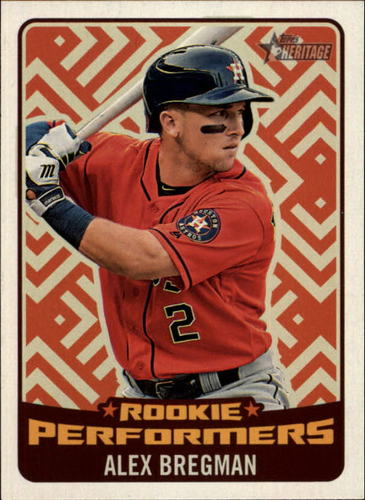 Photo of 2017 Topps Heritage Rookie Preformers #RPABR Alex Bregman
