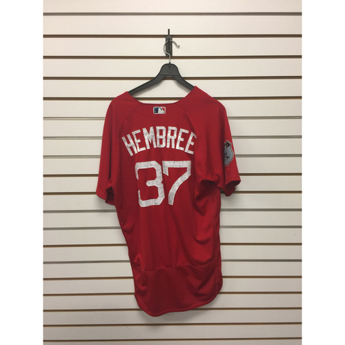 Heath Hembree Team-Issued 2017 Spring Training Jersey