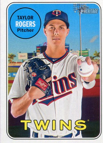 Photo of 2018 Topps Heritage #317 Taylor Rogers RC