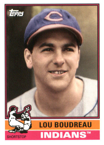 Photo of 2015 Topps Archives #178 Lou Boudreau