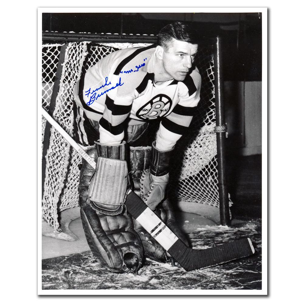 Frank Brimsek Boston Bruins MR. ZERO Autographed 8x10