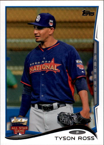 Photo of 2014 Topps Update #US283 Tyson Ross