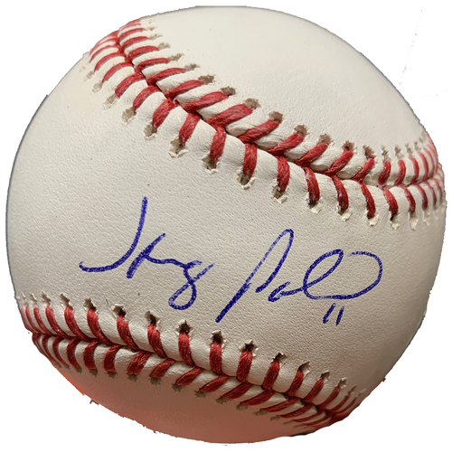 Photo of Minnesota Twins Autographed Baseball - Jorge Polanco