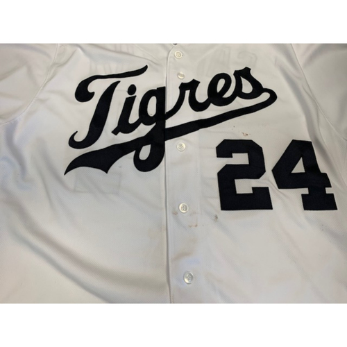 Photo of Game-Used Fiesta Tigres Jersey: Miguel Cabrera