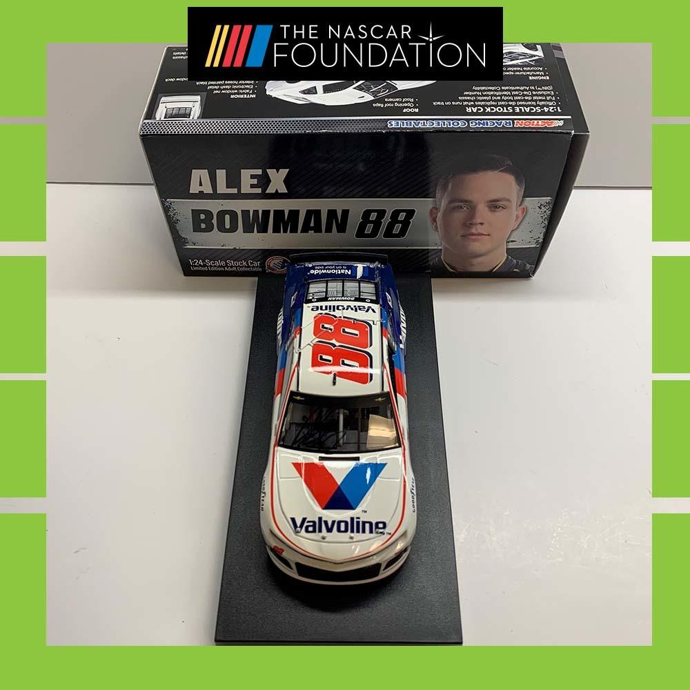 NASCAR's Alex Bowman Autographed Diecast!