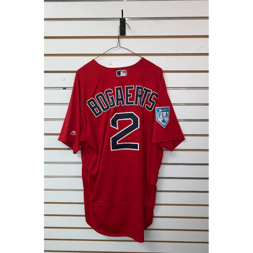 Photo of Xander Bogaerts Team Issued 2019 Spring Training Jersey