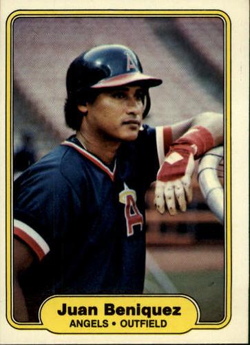 Photo of 1982 Fleer #452 Juan Beniquez