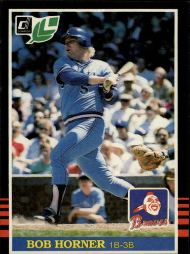 Photo of 1985 Leaf/Donruss #240 Bob Horner