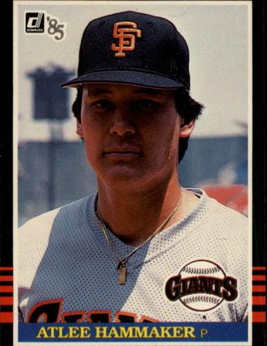 Photo of 1985 Donruss #509 Atlee Hammaker