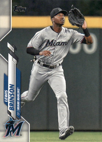 Photo of 2020 Topps #42 Lewis Brinson