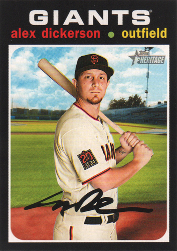 Photo of 2020 Topps Heritage #364 Alex Dickerson